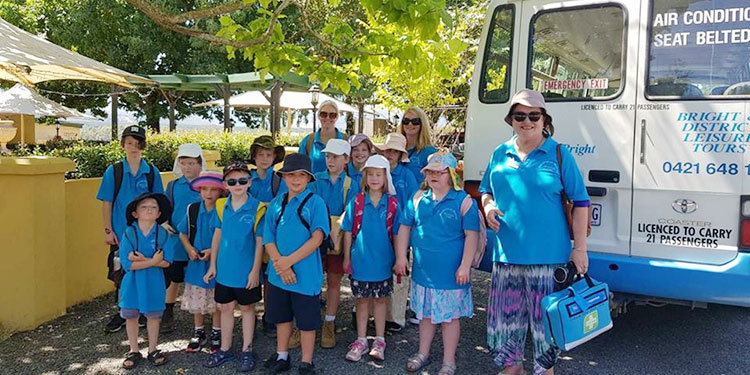 School Bus Trip with Porepunkah Vacation Care